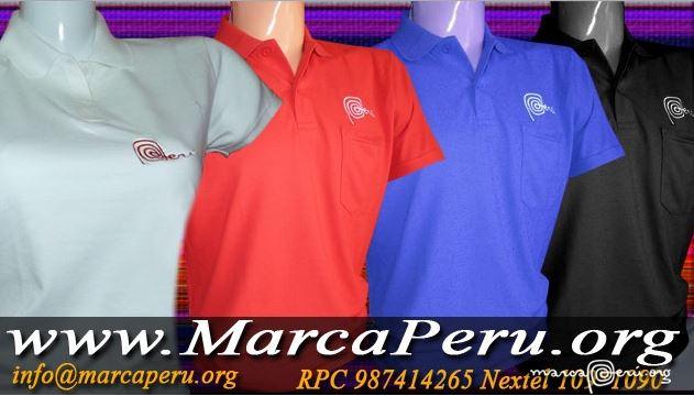 Confeccion de polos marca Peru